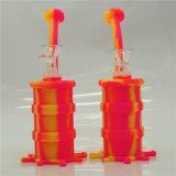 Tubo di fumo di vetro dell'impianto di perforazione della LIMANDA del silicone del tubo di acqua