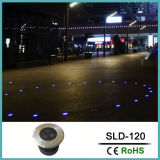 7W LED impermeable Lamp Lighting enterrada