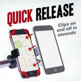 Teléfono celular de motocicletas GPS Bicicleta BTT Bicicleta de soporte de montaje del manillar