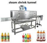 Автоматическая выжмите сок из бутылки ПЭТ-бутылки воды ПВХ этикетка термоусадочной оболочки станка