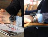 Venda por grosso best selling pulseira para a Samsung, três elos trança de relógio de prata para S3