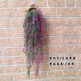 120cm nouvelle arrivée tenture murale artificielle de la vigne de prendre une fleur artificielle de plantes en plastique de la vigne