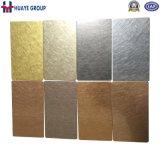 Farben-Platten-Rosen-Goldrot-Kupfer des Edelstahl-201 304 316