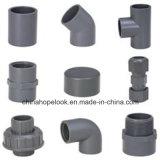 Труба PVC DIN/Sch40/Sch80 серая для водоснабжения