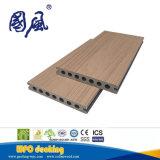 反紫外線木製の穀物の木製のプラスチック合成物WPCのDeckingのボード145*21mm