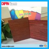 Colorida de metal en color madera de doble hoja de corte y grabado láser