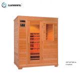 Sunrans im Freien Personen-Ozon-weites Infrarot-Schierling-Holz der Sauna-2