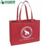 Sacs d'emballage non tissés réutilisés par Eco faits sur commande bon marché d'épicerie de sac à provisions de pp