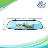 Sistema de segurança de automóveis com 7 polegadas Monitor Espelho Câmera para visão traseira e dianteira