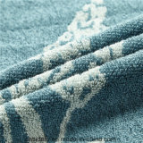 Подгонянное роскошью полотенце ванны жаккарда Терри Compressed