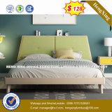 Современный стиль для оригинала дерева цвета деревянной ногой спальне двуспальная кровать (HX-8NR0689)