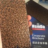 Enduit de cuivre antique de poudre de texture de ride de finis approximatifs époxy de polyester