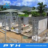 La luz de prefabricados de estructura de acero de la construcción de Casa Villa