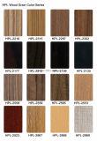 Le Decking de la qualité WPC extérieur imperméabilisent le plancher en bois conçu