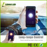 15W E26 steuerte mehrfarbige (2000K-9000K) Sprachsteuerung Smartphone 6 Zoll LED Downlight