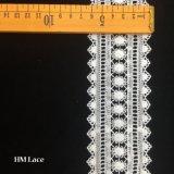 6.5cm 폴리에스테 크로셰 뜨개질 해바라기 레이스 손질 DIY 기술 미색 트리밍 레이스 Hmhb1178