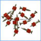 Pistolet Shoot clou galvanisé Axes d'entraînement avec Tampon rouge