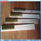 2PCS Set медного провода деревянной ручкой Набор щеток
