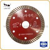 """4"""" 105mm de la hoja de sierra de diamante de la herramienta de Diamante sierra Turbo de ladrillos de cerámica"""