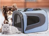 Nuevo bolso del perro del paquete del gato del paquete del animal doméstico del diseño de la manera fuera del bolso portable Yf-Pb1836 del bolso del perro de la jaula