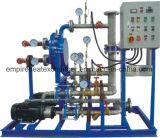 Plaque et échangeur de chaleur d'interpréteur de commandes interactif pour le chauffe-eau