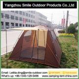 8-10 tente carrée imperméable à l'eau bon marché d'allégement de modèle simple de personnes