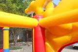 安い5*4*3.5mおよび高品質はおかしいミッキーマウスの跳躍の城、警備員のInflatablesの卸売をからかう