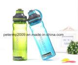 Bottiglia di acqua di plastica portatile creativa di grande capienza