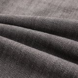 Tela de alta densidad bicolor del sofá del poliester del telar jacquar en gris