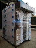 Le four électrique rotatoire de pain de 16 plateaux industriel en vente a le circuit d'alimentation de vapeur (ZMZ-16D)