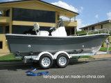 Fabricantes do barco de pesca da fibra de vidro dos barcos de pesca do Panga de Liya 19feet