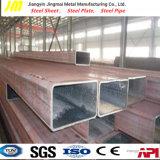 Tubo de acero curvado frío de la sección hueco del tubo de acero cuadrado y rectangular