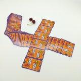 OEMのカスタム倍の挑戦のロゴの火かき棒セットは薄板にされたZhonghuaの青書の正常なサイズYh366を印刷した