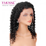Densità profonda brasiliana della parrucca 180% del merletto dell'onda dei capelli umani