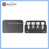 태양 전지판의 태양 모듈 접속점 상자의 접속점 상자