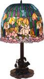 Lámpara de tabla de Tiffany (GM18667T)