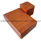 Rectángulo de madera al por mayor hecho a mano original de la caja de embalaje de la joyería