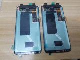 LCD表示とSamsungギャラクシーS8 S8のための携帯電話LCDのタッチ画面