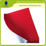 600GSM 빨간 Virgin 방수포 PVC 방수 덮개 천막 방수포