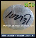 Disco do filtro, filtro de engranzamento tecido do fio do aço inoxidável