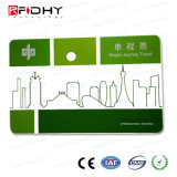 RFID MIFAREのカードのペーパーはMIFAREのUltralight EV1公共交通機関のカードに札をつける