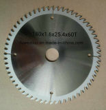 180X1.0X2.4X60t Tctの円の炭化物は木製の切断については鋸歯を