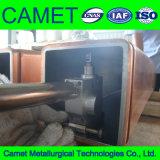 連続鋳造の銅型の管