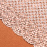 шнурок Tulle цветка 3D флористический вышитый для платья женщин