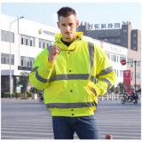 Revestimento reflexivo da segurança do Workwear elevado da visibilidade