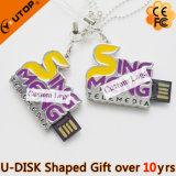Изготовленный на заказ USB Pendrive письма/характера форменный для настоящего момента (YT-1800)
