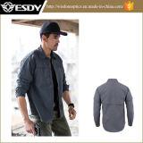 Camicia Long-Sleeved dell'Rapido-Essiccamento respirabile di Esdy per esterno