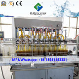 Installation de mise en bouteille d'huile de table de machine de pétrole de machine de remplissage de pâte