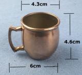ステンレス鋼のハンドル2016年が付いている小型コーヒー・マグ