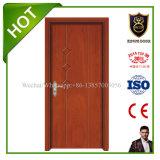 Diseños de madera de la puerta de la puerta de madera interior del diseño moderno